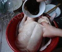 家庭版北京烤鸭的做法图解2