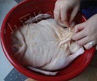 家庭版北京烤鸭的做法图解4
