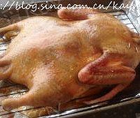 家庭版北京烤鸭的做法图解8