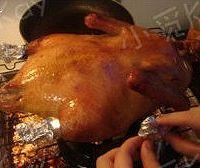 家庭版北京烤鸭的做法图解9